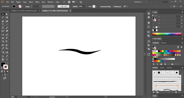 Art Brush In Adobe Illustrator