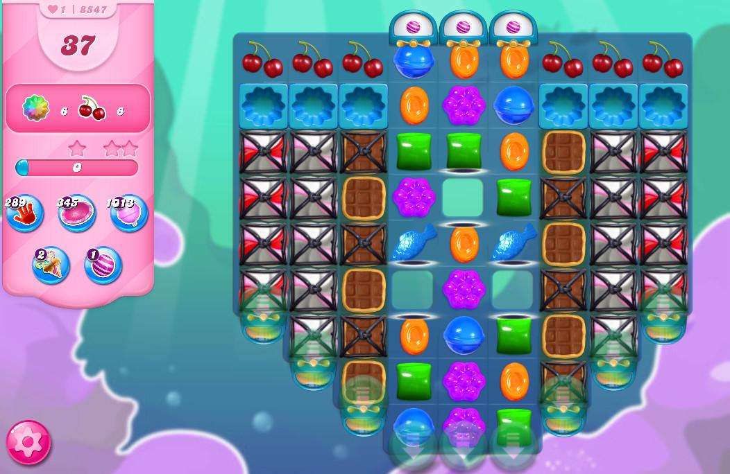 Candy Crush Saga level 8547