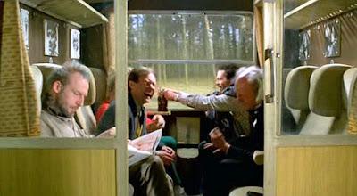 kolejowy przedział w filmach