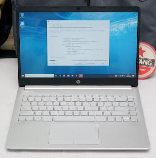 Laptop Bekas HP 14s-DK0072AU