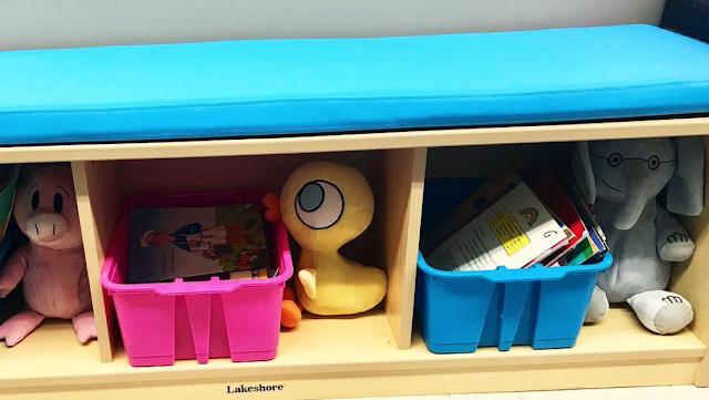 Lakeshore Learning storage benches