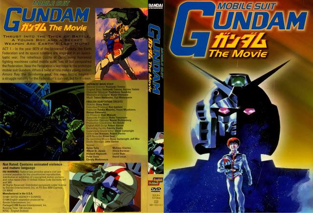 Capa DVD Mobile Suit Gundam The Movie