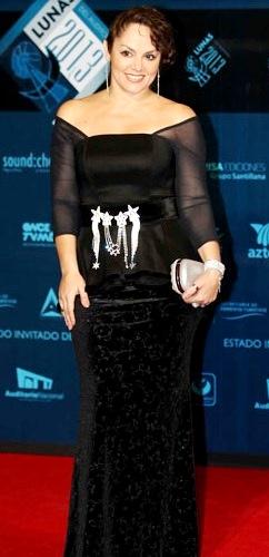 Foto de Tatiana con hermoso vestido
