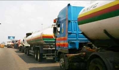 Trouble As Petroleum Tanker Drivers Begins Nationwide Strike on Monday