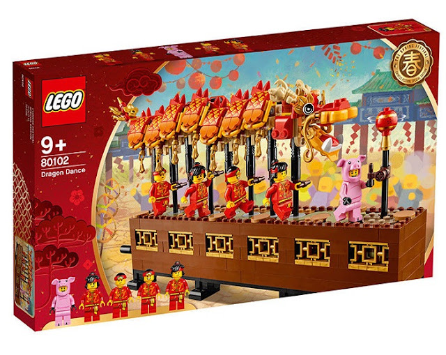 Dragon Dance LEGO Sets Box