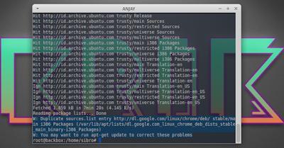 Cara Mengatasi Duplicate sources.list entry http://dl.google.com/linux/chrome/deb/ stable/main i386 Packages
