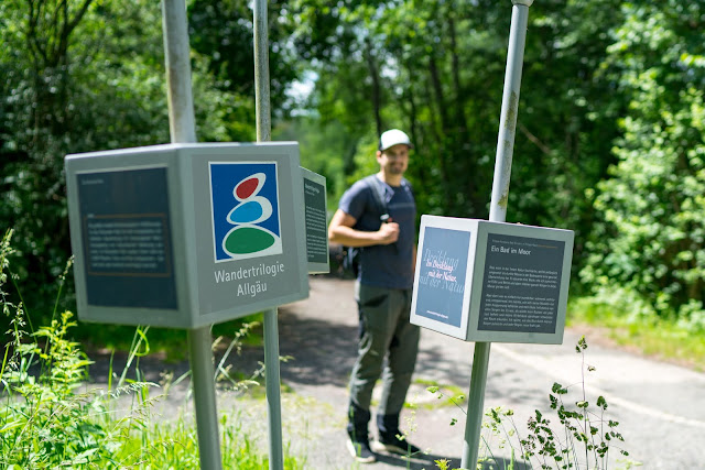 Wandertrilogie Allgäu  Etappe 11  Leutkirch-Bad Wurzach - Wiesengänger Route 13