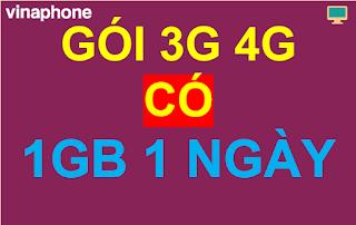 Gói cước 3G 4G 1GB 1 ngày
