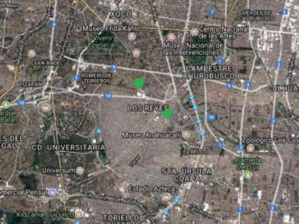 Coyoacán fue, epicentro de dos sismos de baja intensidad