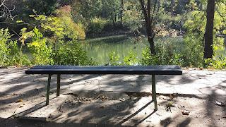 Lonely, Bench, Yambol, River Tundzha,