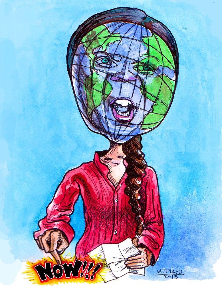 Η σπαρακτική έκκληση της Γκρέτα Τούνμπεργκ για την κλιματική αλλαγή