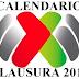 Calendario completo Clausura 2017