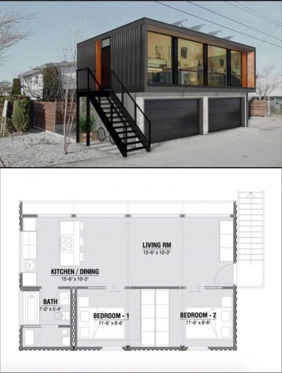 Casas contenedores algunos proyectos de casas container - Contenedores para vivienda precios ...