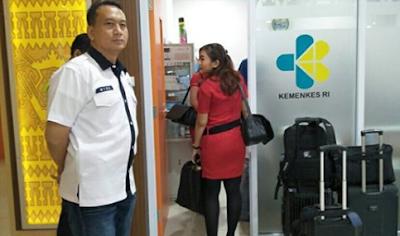 Mendadak, Ditresnarkoba Cek Urin 32 Kru Lima Maskapai Di Bandara Radin Inten II