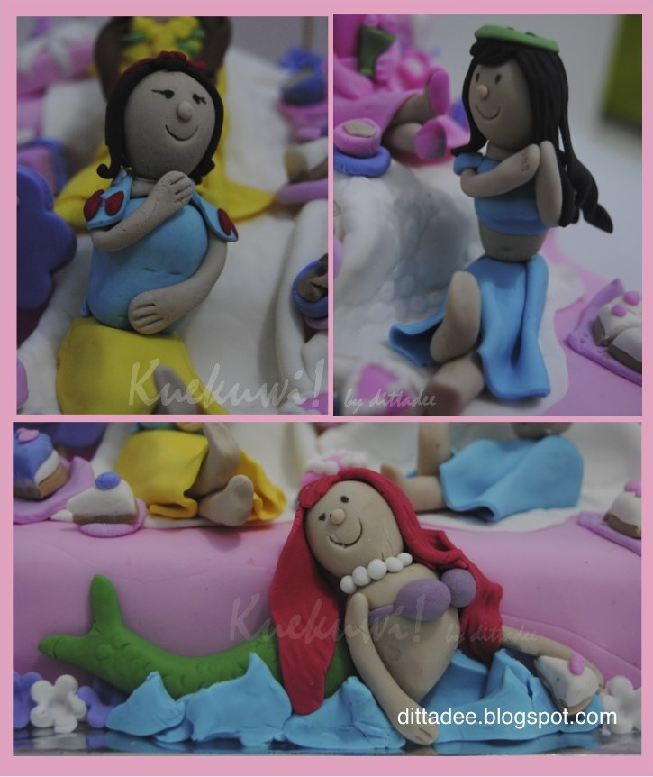 Kuekuwi By Dittadee Disney Princess Bday Cake For Nadine