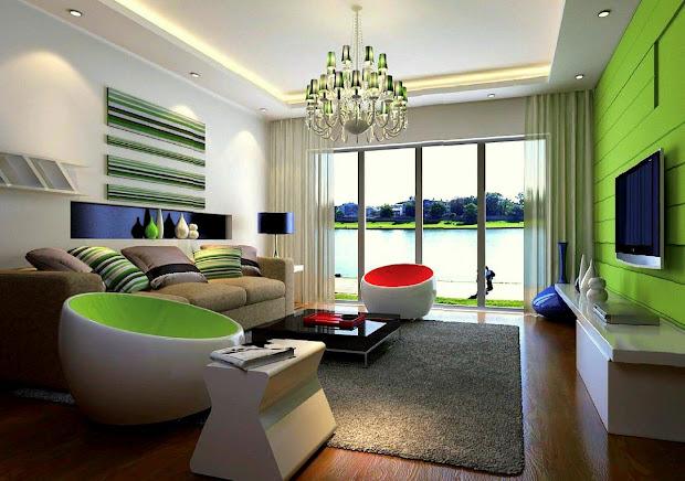 Susun Atur Ruang Tamu Rumah Teres Setingkat Dekorasi Semi Desain