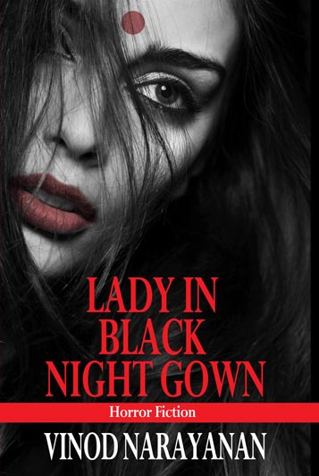 Lady in black night gown  (English) By Vinod narayanan