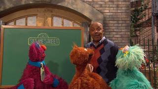 Gordon, Telly, Baby Bear, Rosita, Sesame Street Episode 4402 Don't Get Pushy season 44