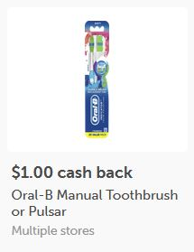 oral b deal ibotta
