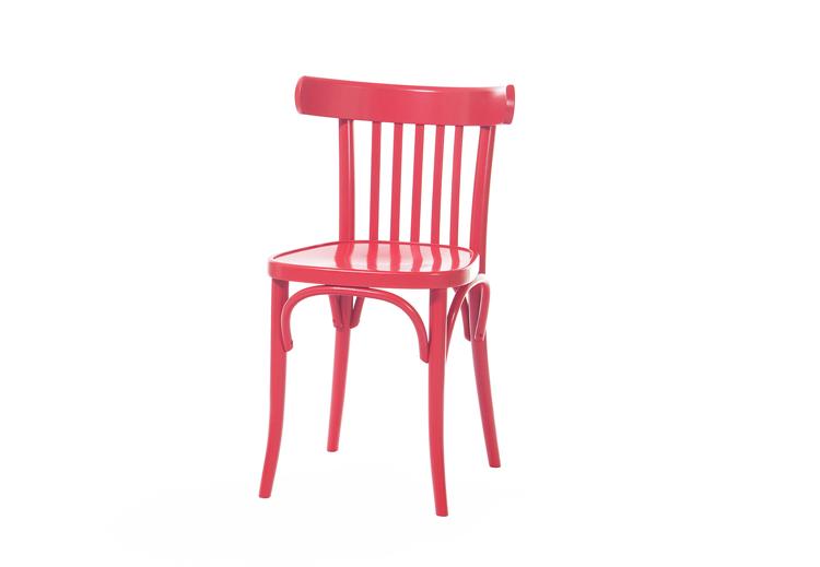 Bujany fotel wyplatany rattanem, TON, www.ton.eu