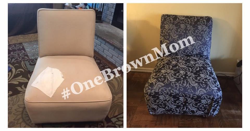 One Brown Mom Diy Slip Covers Part 2