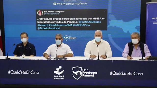 Panamá encabeza casos de contagio por COVID-19 en Centroamérica