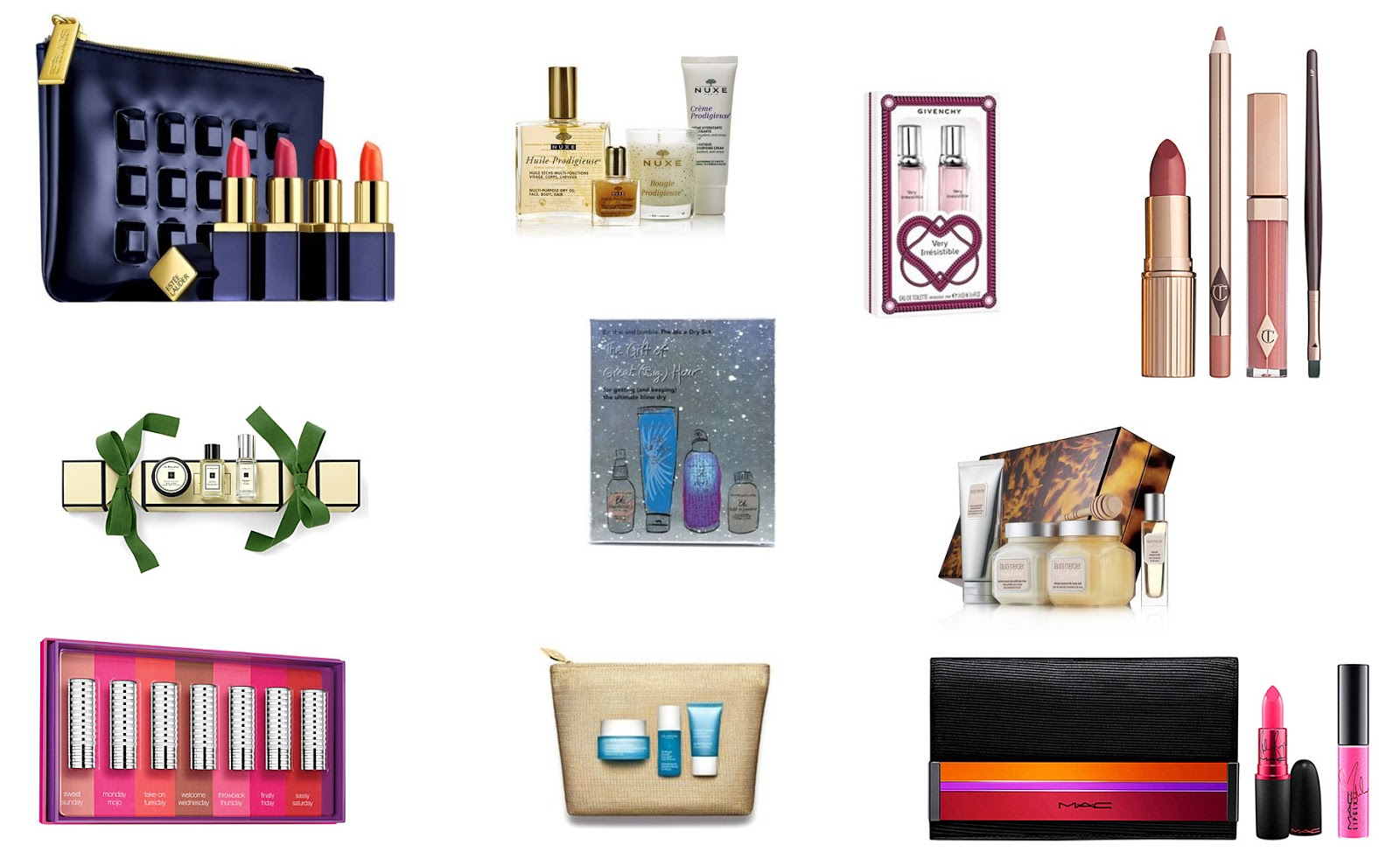2015 Beauty Christmas Gift Guide Under £50