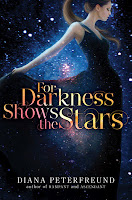 for darkness shows the stars by diana peterfreund book cover