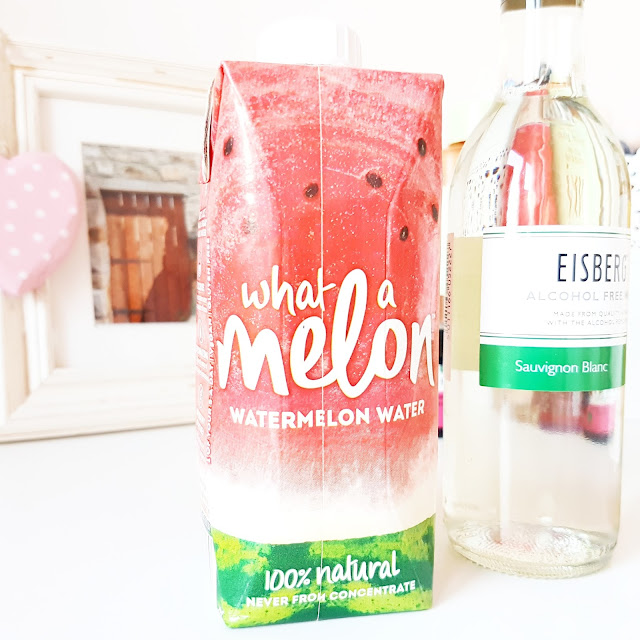 What a Melon (£2) watermelon water.