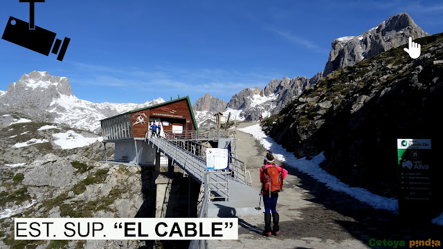 "Webcam ""EL CABLE"" en Fuente Dé."