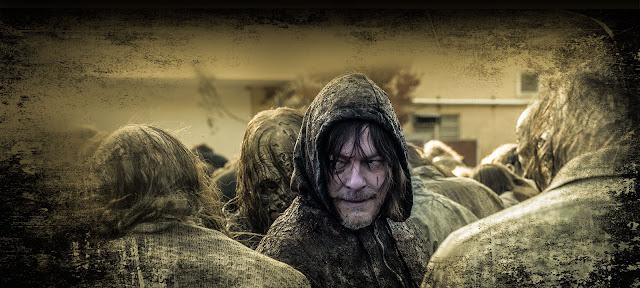 Daryl Dixon nell'ultimo banner della Stagione 10 di The Walking Dead