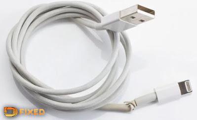 kabel usb rusak menyebabkan baterai handphone lama terisi