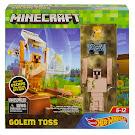 Minecraft Golem Toss Hot Wheels Playset Figure