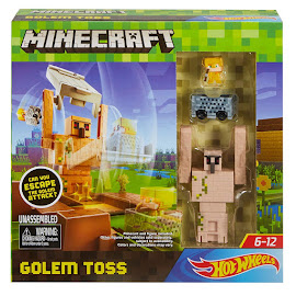 Minecraft Mattel Golem Toss Other Figure