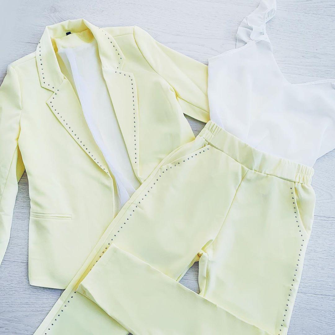Blazers y pantalones de vestir primavera verano 2020.