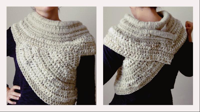 katniss cowl crochet ganchillo gancho paso a paso tutorial