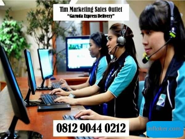 Lowongan Marketing GED/Garuda Expres Delivery