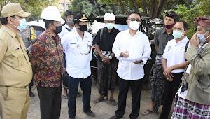Wawali Jaya Negara Tinjau Pembangunan Fisik SMPN 14 Denpasar