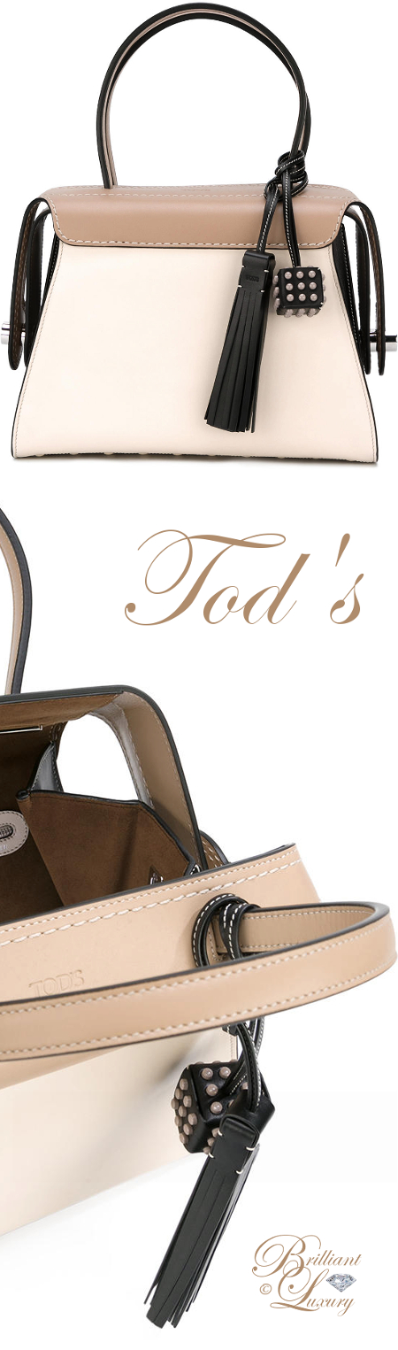 Brilliant Luxury ♦ Tod's Twist Boston Tote