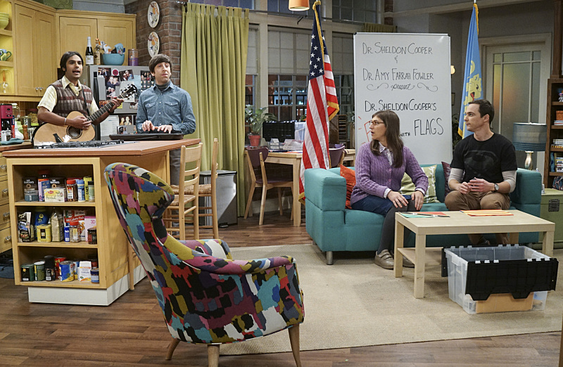 The Big Bang Theory Fun with Flags
