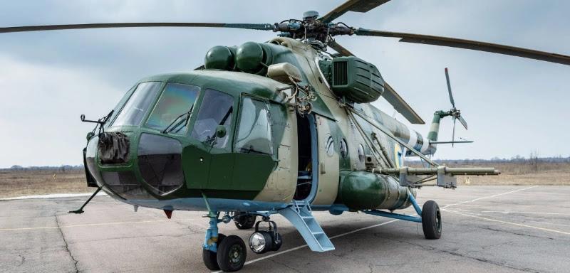 ЗСУ отримали модернізований гелікоптер Мі-8МТВ