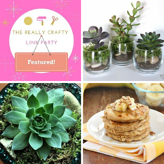 The Really Crafty Link Party #63 featured posts!