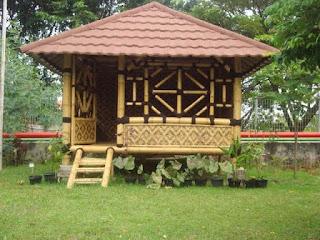 jasa pembuatan gazebo saung bambu di Tasikmalaya murah bagus berkualitas