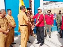Tiba di Tual, Kontingen MTQ diarak keliling Kota Tual