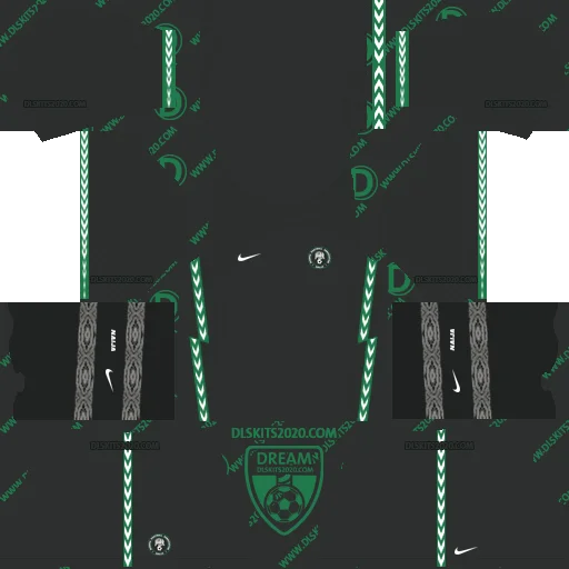 Nigeria Kits 2021 in Qatar 2022 World Cup For Kit Dream League Soccer 2019 (Away)