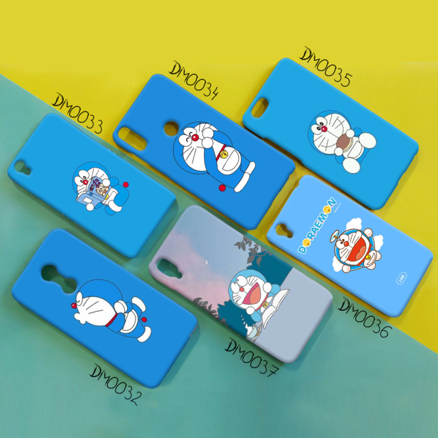 case doraemon background biru