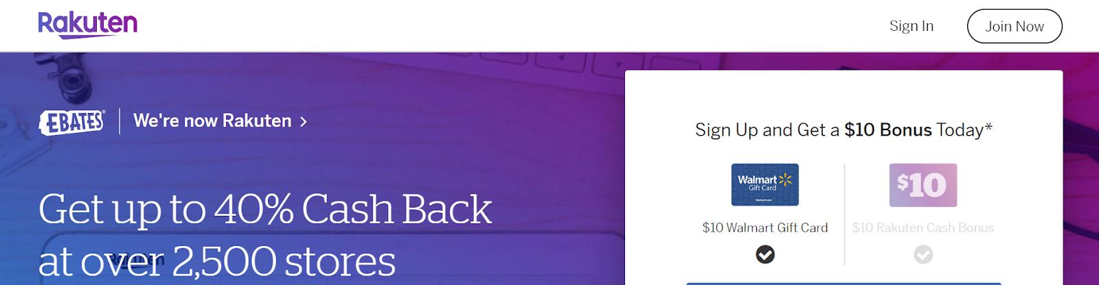 The Top Best Cashback Website for Shopping Online: Rakuten