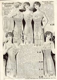 advert for an 'Athletic Girl Corset'