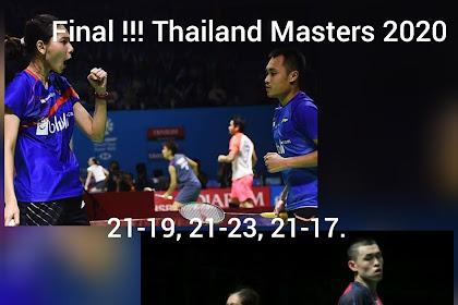 Hafiz Faizal masuk Final Thailand masters 2020