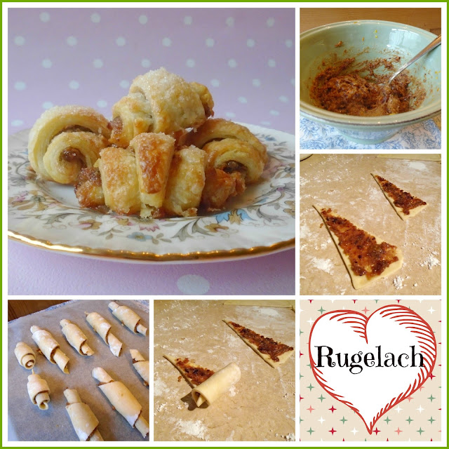 How to make homemade Rugelach filled with sweet mincemeat